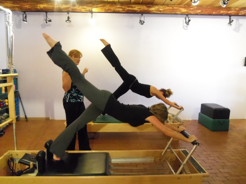 Duet Class on the Pilates Reformer